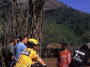 Biking Swazi culture